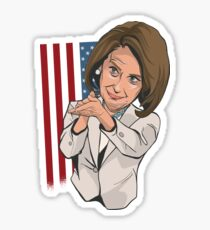 NANCY PELOSI CLAPPING Sticker
