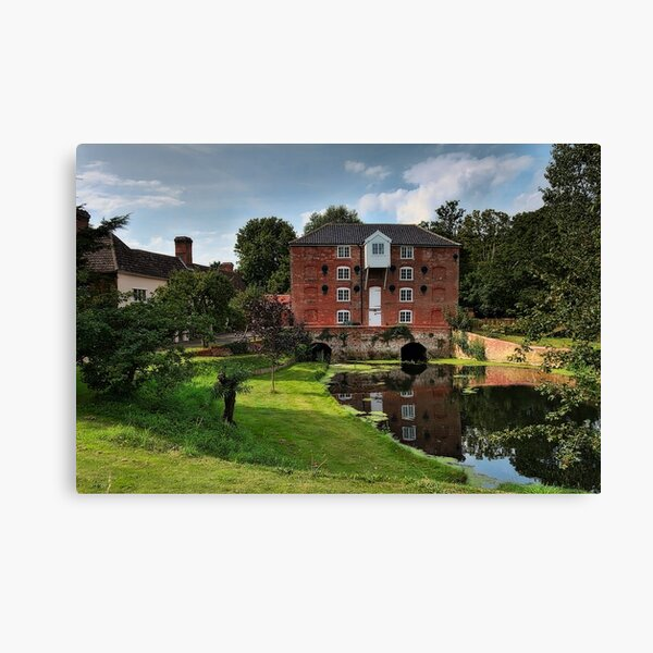 Sproughton Water Mill Canvas Print