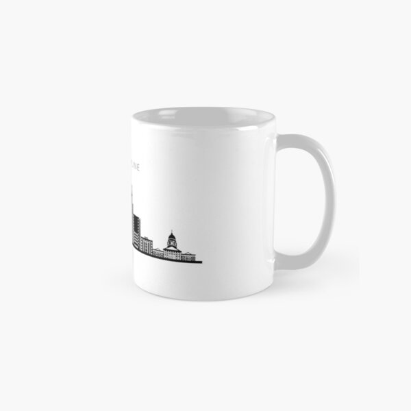 Kansas City Skyline Art Classic Mug