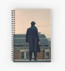 Sherlock Falls Spiral Notebook