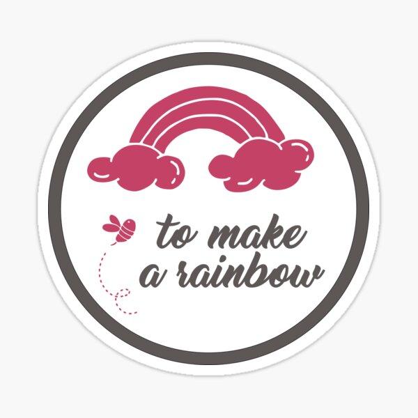 To Make A Rainbow Sticker