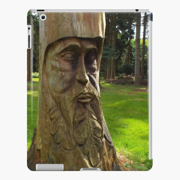 Tree Trunk Man iPad Snap Case
