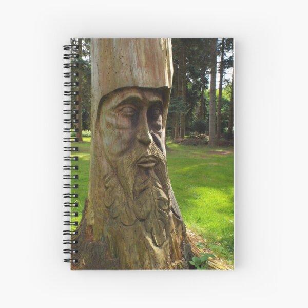 Tree Trunk Man Spiral Notebook