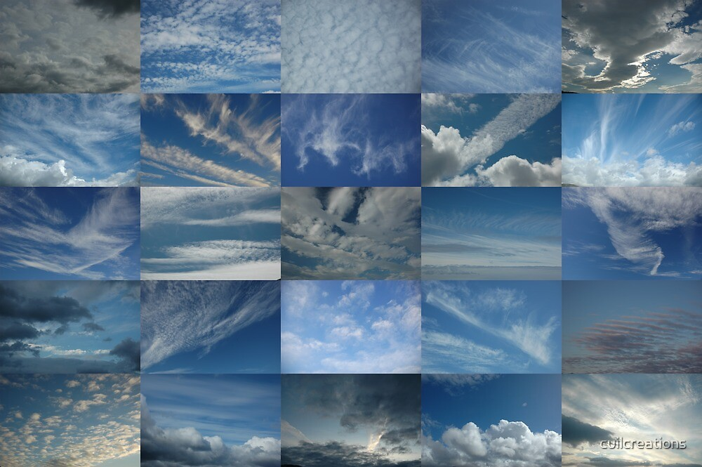 Clouds in a Blue Sky 5x5 by cuilcreations