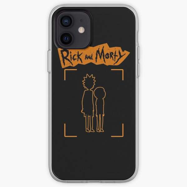 Rick And Morty Retro Vintage iPhone Soft Case