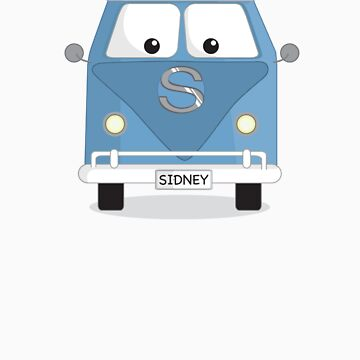 Sidney the Bus by browzy