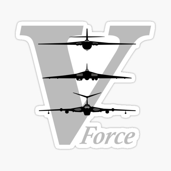 V Force - RAF Bomber Aircraft Sticker
