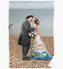 Wedding on Whitstable Beach Poster