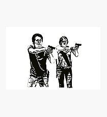 Glenn & Maggie Walking Dead Photographic Print