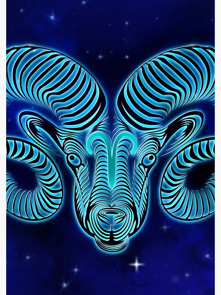 Blue Aries by VibeCircle