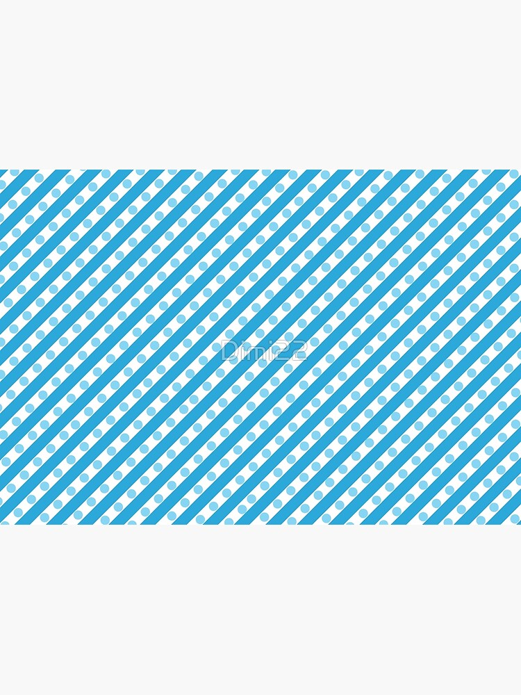 Blue Stripes and Dots by Dimi22