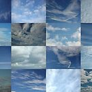 Clouds in a Blue Sky 8x4 by cuilcreations