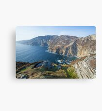 Sliabh Liag sea cliffs in Co. Donegal Metal Print