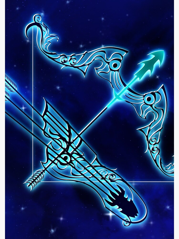 Blue Sagittarius Astrology by VibeCircle