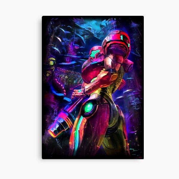 Samus Aran Metroid Canvas Print