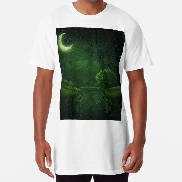 the green night Long T-Shirt