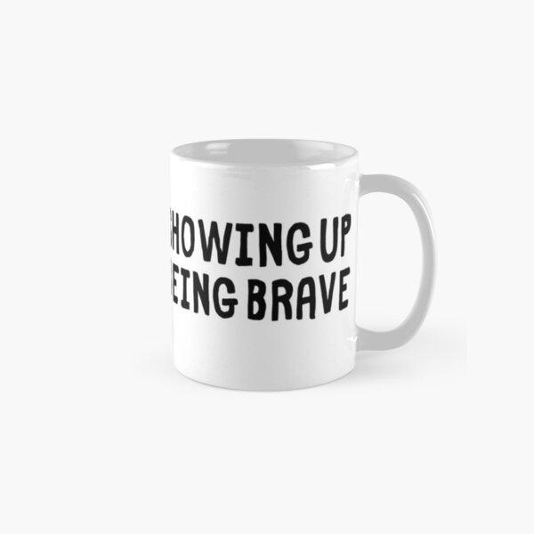 Keep Showing Up Rectangle Classic Mug