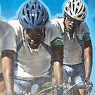 Cyclists by biddumy