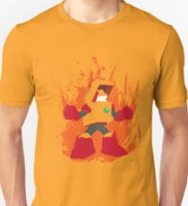 Heat Man Fiery Vector Shirt T-Shirt