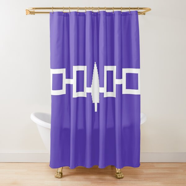 Hiawatha Belt - Iroquois Shower Curtain
