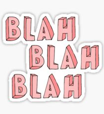 Tumblr Word Stickers Sticker