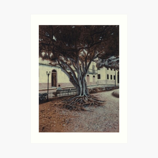 Plaza Bolivar #1 Art Print