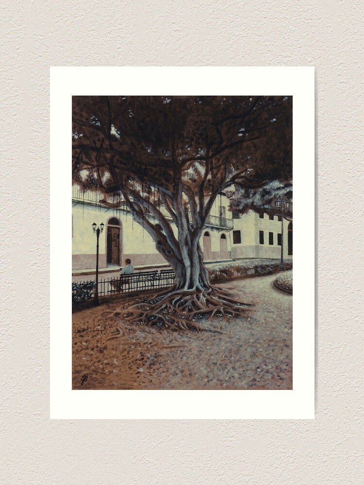 Alternate view of Plaza Bolivar #1 Art Print