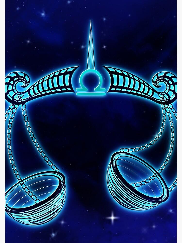 Dark Blue Libra by VibeCircle