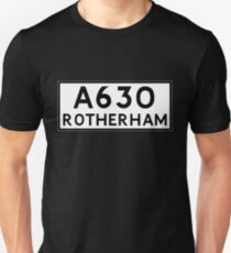 Rotherham (Old sign/ pre-Worboys style) T-Shirt