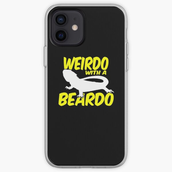 Weirdo With A Beardo Bearded Dragon iPhone Soft Case