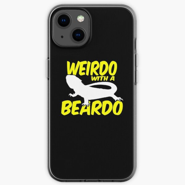 Weirdo With A Beardo Bearded Dragon iPhone Soft Case