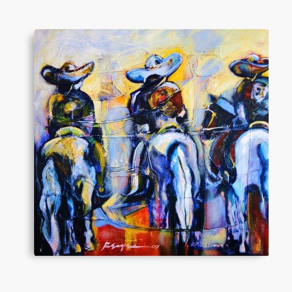 Charros  Canvas Print