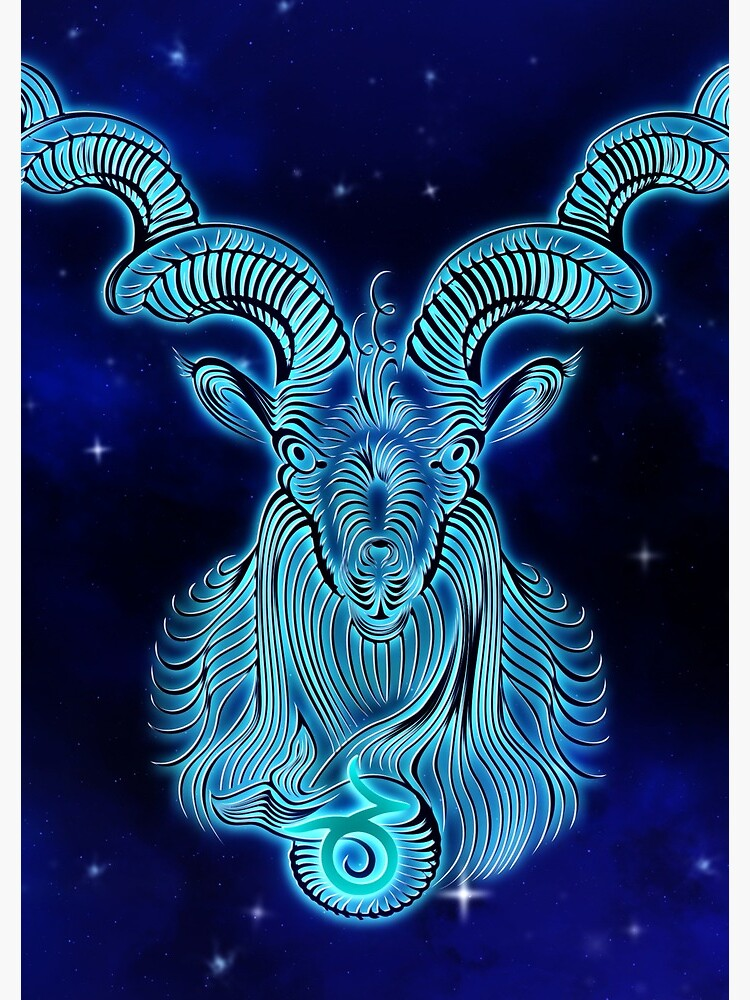 Blue Capricorn by VibeCircle