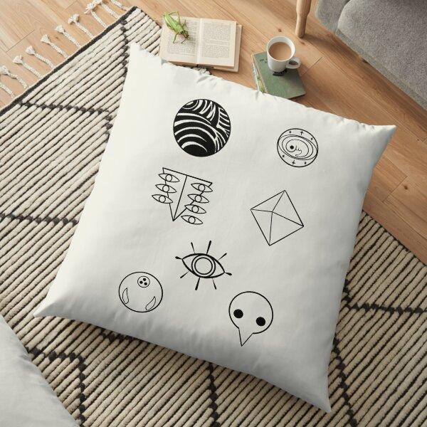 evangelion angels Floor Pillow