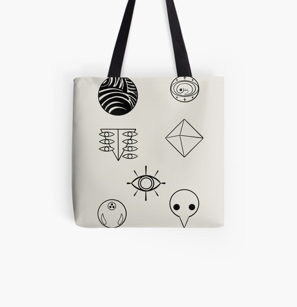 evangelion angels All Over Print Tote Bag