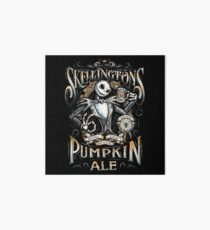 Skellingtons Pumpkin Royal Craft Ale Art Board