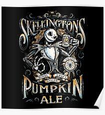 Skellingtons Pumpkin Royal Craft Ale Poster