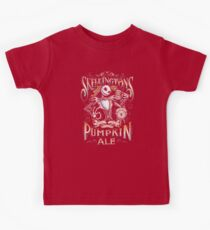 Skellingtons Pumpkin Royal Craft Ale Kids Tee