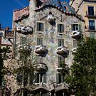 cityscapes #258, dragon by gaudi by stickelsimages