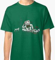 Robot Takes New York Classic T-Shirt