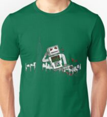 Robot Takes New York Unisex T-Shirt