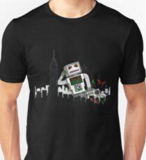 Robot Takes New York Unisex T-Shirt