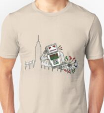 Robot Takes New York T-Shirt
