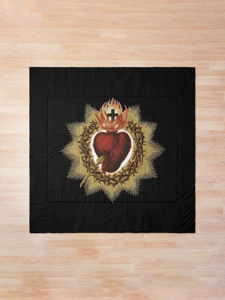 Alternate view of Sacred Heart of Jesus Catholic Comforter