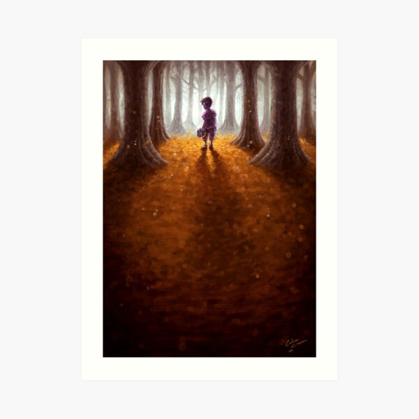 """Last Goodbye"" Art Print"