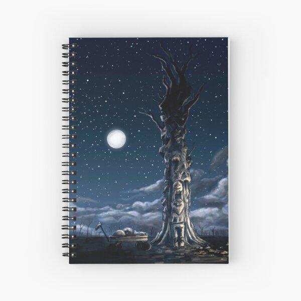 """A Masked Tree"" Spiral Notebook"
