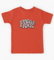 Fraggle Rock Vintage Style in WHITE  Kids Tee