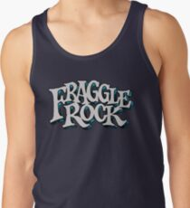 Fraggle Rock Vintage Style in WHITE  Tank Top