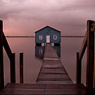 The Boatshed by Pene Stevens