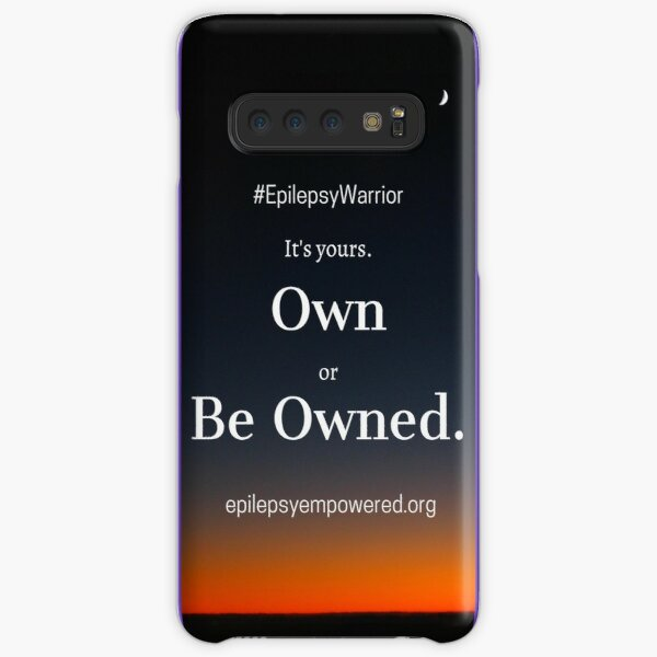 Own Or Be Owned - Epilepsy Warrior Samsung Galaxy Snap Case